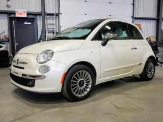 Used 2013 Fiat 500 Décapotable 2 portes Lounge for sale in St-Eustache, QC