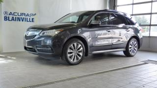 Used 2016 Acura MDX TECHNOLOGIE ** GPS ** DVD ** for sale in Blainville, QC