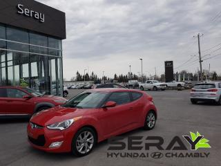 Used 2016 Hyundai Veloster Se, Mags, A/c for sale in Chambly, QC