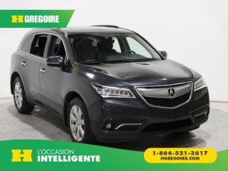 Used 2016 Acura MDX ELITE PKG AWD DVD 7 for sale in St-Léonard, QC