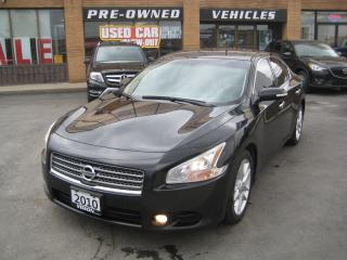 Used 2010 Nissan Maxima SV/LEATHER/SUNROOF for sale in North York, ON