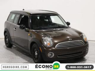 Used 2008 MINI Cooper Clubman 2DR CPE A/C GR for sale in St-Léonard, QC