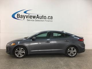 Used 2018 Hyundai Elantra GL SE - SUNROOF! HTD LTHR! ADAPTIVE CRUISE! ALLOYS! + MORE! for sale in Belleville, ON