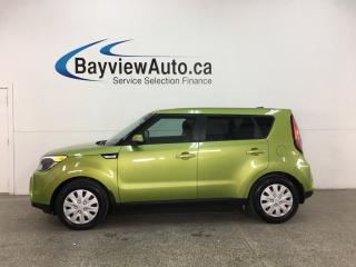 Used 2015 Kia Soul LX - 39,000KMS! AUTO! A/C! PWR GROUP! for sale in Belleville, ON