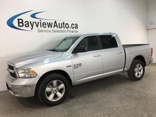 Used 2019 RAM 1500 Classic SLT - 8SPD AUTO! 20' ALLOYS! 4X4! U-CONNECT! for sale in Belleville, ON