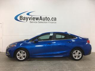 Used 2018 Chevrolet Cruze LT Auto - RS! AUTO! PWR GROUP! ALLOYS! for sale in Belleville, ON