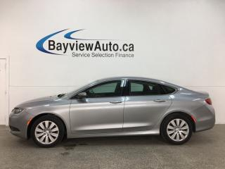 Used 2016 Chrysler 200 LX - AUTO! A/C! CRUISE! PWR GROUP! for sale in Belleville, ON