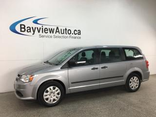 Used 2017 Dodge Grand Caravan CVP/SXT - STOW 'N GO! DUAL A/C! CRUISE! FULL PWR GROUP! for sale in Belleville, ON