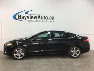 Used 2015 Ford Fusion SE - BLACK! 5 STAR ALLOYS! BIG SCREEN! 50,000KMS! for sale in Belleville, ON