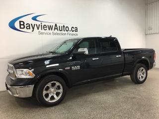 Used 2018 RAM 1500 Laramie - HEMI! 4X4! HTD LTHR! RAM BOX! ROOF! 20' CHROMES! for sale in Belleville, ON