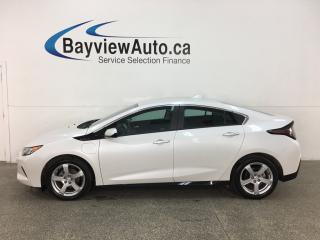 Used 2018 Chevrolet Volt - EXT RANGE HYBRID! LTHR! LOW KMS! FULL PWR GROUP! for sale in Belleville, ON
