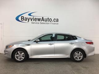 Used 2016 Kia Optima LX - AUTO! A/C! CRUISE! BLUETOOTH! ALLOYS! for sale in Belleville, ON