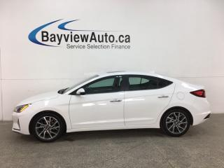 Used 2019 Hyundai Elantra Ultimate - AUTO! HTD LTHR! SUNROOF! SAFETY PKG! LOADS OF OPTIONS! for sale in Belleville, ON