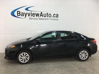 Used 2017 Toyota Corolla LE - AUTO! HTD SEATS! BLUETOOTH! A/C! CRUISE! PWR GROUP! for sale in Belleville, ON