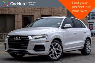 Used 2017 Audi Q3 Komfort|Pano_Sunroof|Heat.Frnt.Seats|Bluetooth|SiriusXM|Keyless_Entry| for sale in Thornhill, ON