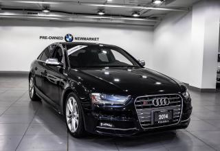 Used 2014 Audi S4 3.0 6sp Progressiv -NO ACCIDENTS| LOW KMS for sale in Newmarket, ON