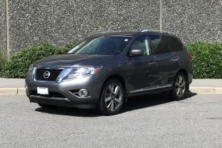 Used 2015 Nissan Pathfinder Platinum V6 4x4 at for sale in Vancouver, BC