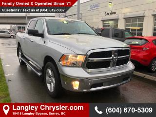 Used 2015 RAM 1500 *CREW SLT* *V6* *NAVI & BACK UP CAMERA* *LUXURY GROUP* for sale in Surrey, BC