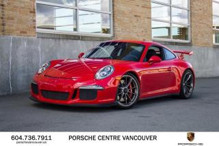 Used 2014 Porsche 911 GT3 | PORSCHE CERTIFIED for sale in Vancouver, BC