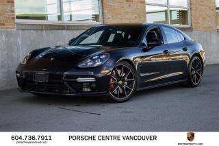 Used 2018 Porsche Panamera Turbo | PORSCHE CERTIFIED for sale in Vancouver, BC