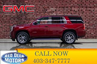 Used 2018 GMC Yukon AWD SLT Leather Roof Nav DVD for sale in Red Deer, AB