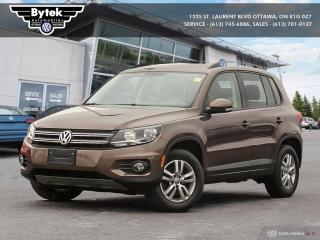 Used 2015 Volkswagen Tiguan Trendline 6sp at Tip 4M for sale in Ottawa, ON