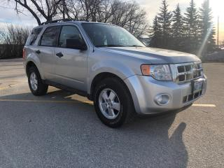 Used 2011 Ford Escape XLT Automatic New Tires / Bluetooth / AWD / 3.0L for sale in Winnipeg, MB