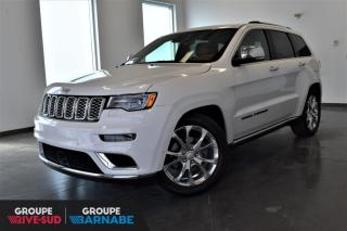 Used 2019 Jeep Grand Cherokee Summit V8 4x4 +GPS+CUIR ROUGE+TOIT-PANO+ for sale in St-Jean-Sur-Richelieu, QC