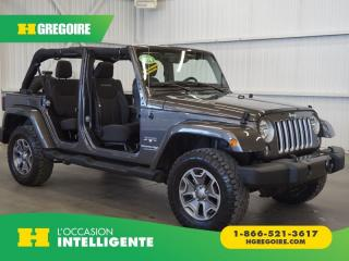 Used 2018 Jeep Wrangler JK UNLTD SAHARA AWD for sale in St-Léonard, QC