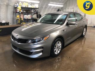 Used 2018 Kia Optima SPORT/ECO mode * Heated front seats * Phone connect * Voice recognition * Keyless entry * Climate control * Cruise control * Traction control *Hands f for sale in Cambridge, ON