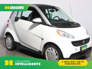 Used 2015 Smart fortwo PURE A/C CUIR for sale in St-Léonard, QC