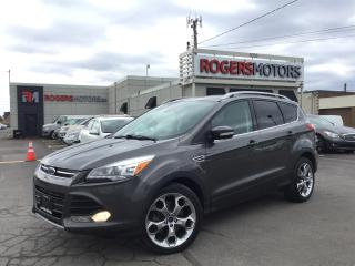 Used 2015 Ford Escape TITANIUM 4WD - NAVI - PANO ROOF - SELF PARKING for sale in Oakville, ON