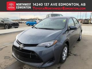 Used 2017 Toyota Corolla CE | Bluetooth | Cruise Control | Heat Mirrors | A for sale in Edmonton, AB