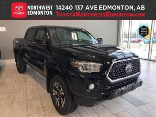 New 2019 Toyota Tacoma 4X4 Double Cab V6 | TRD Sport Upgrade (Short Box) for sale in Edmonton, AB