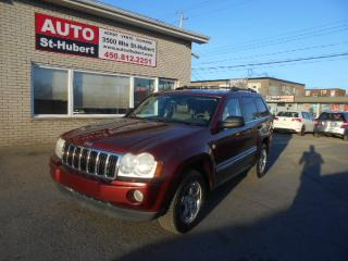 Used 2007 Jeep Grand Cherokee LIMITED 4X4 ** DIESEL ** for sale in St-Hubert, QC