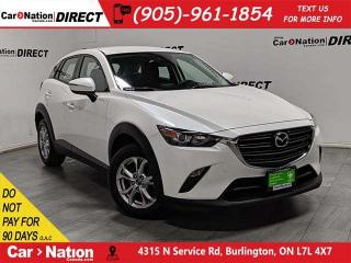 Used 2019 Mazda CX-3 GS| AWD| BACK UP CAMERA| PUSH START| for sale in Burlington, ON