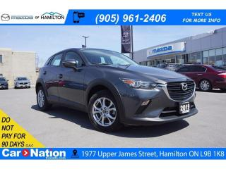 Used 2019 Mazda CX-3 GS | LEATHERETTE | REAR CAM | SUNROOF for sale in Hamilton, ON
