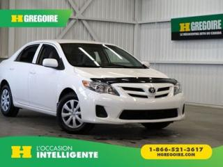 Used 2013 Toyota Corolla CE A/C-GR for sale in St-Léonard, QC