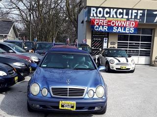 Used 1999 Mercedes-Benz CLK CONVERTIBLE for sale in Markham, ON