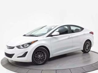 Used 2016 Hyundai Elantra Gl A/c Sieges Ch for sale in Brossard, QC