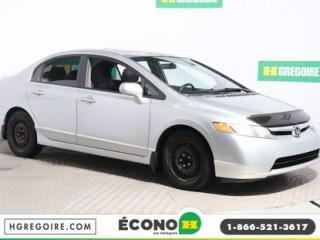 Used 2008 Honda Civic LX-SR SPORT for sale in St-Léonard, QC
