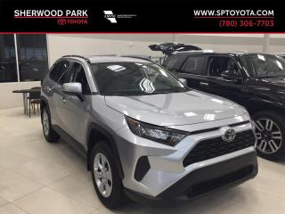 New 2019 Toyota RAV4 LE for sale in Sherwood Park, AB