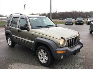 Used 2003 Jeep Liberty Sport, SOLD AS IS for sale in Ingersoll, ON