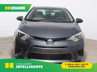 Used 2015 Toyota Corolla Le A/c for sale in St-Léonard, QC