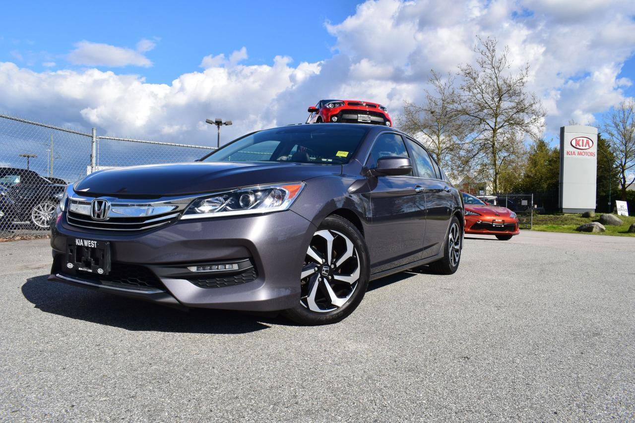 2016 Honda Accord EX-L AUTO/LEATHER/ROOF/HS/SMAR
