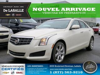 Used 2014 Cadillac ATS Luxury AWD for sale in Lasalle, QC