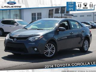Used 2014 Toyota Corolla Le Cuir Toit Gps for sale in Victoriaville, QC