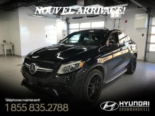 Used 2016 Mercedes-Benz GLE63 S AMG COUPE + GARANTIE + NAVI + RARE !! for sale in Drummondville, QC