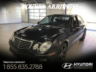 Used 2009 Mercedes-Benz E350 4MATIC + GARANTIE + NAVI + TOIT + MAGS A for sale in Drummondville, QC