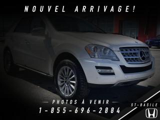 Used 2011 Mercedes-Benz ML 350 ML 350 BlueTEC 4 portes 4MATIC for sale in St-Basile-le-Grand, QC